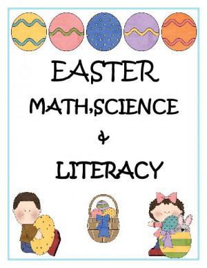 Easter Bunny Math Worksheets