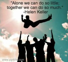 Keller Picture Quote about Teamwork! Get 29 more quotes about teamwork ...