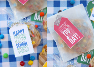 ... notes: The sweetest thing in their lunch box won't be cookies
