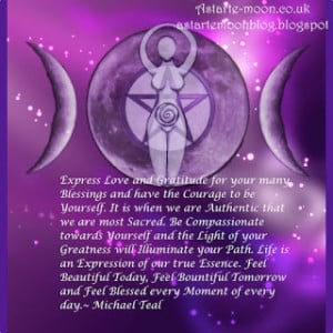 Express love and gratitude.... Micheal Teal Quote