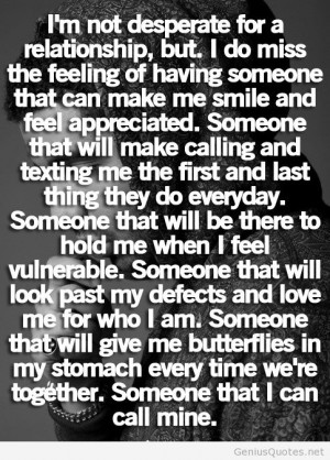 im just not ready for a relationship