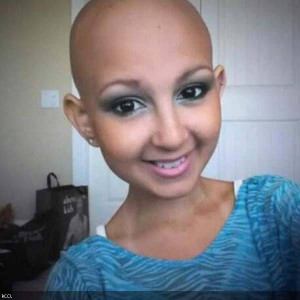 Bald is beautiful. Cancer is not.