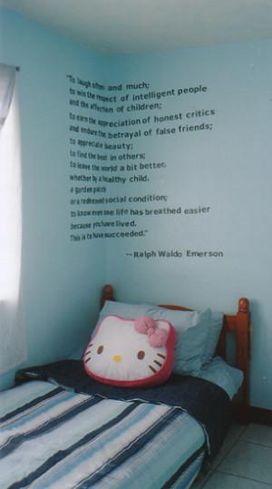 Bedroom Vinyl Art