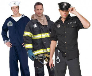 Why you like men in Uniform…
