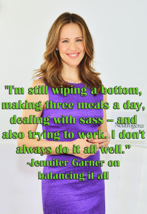 Jennifer Garner Quotes That Prove She's Just Like Us