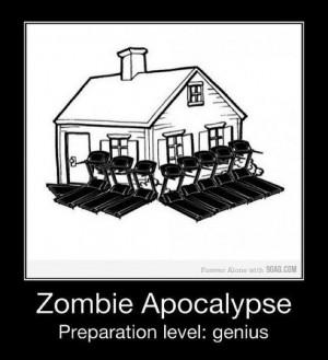 Zombie Apocalypse. Preparation Level: Genius