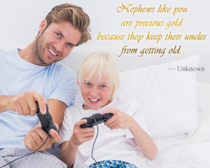 Cute Quotes About Nephews