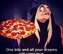 funny, pizza, witch, snow-white, quotes