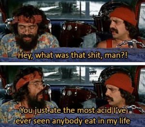 ... Ever Seen Anyone Take In His Life In Cheech & Chong's Up In Smoke