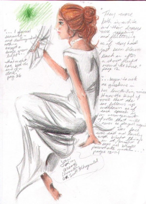 Daisy Buchanan- Great Gatsby by Heartandcrossbones.deviantart.com