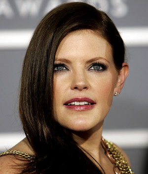 Natalie Maines, lead singer of the Dixie Chicks, who won five Grammys ...