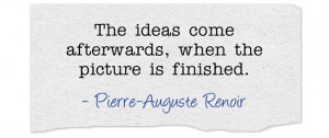 Quotes by Auguste Renoir