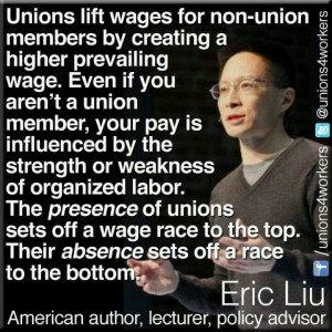 ... Union, Wage, Eric Liu, Union Stuff, Aaa Quotes, Things, Organic Labor