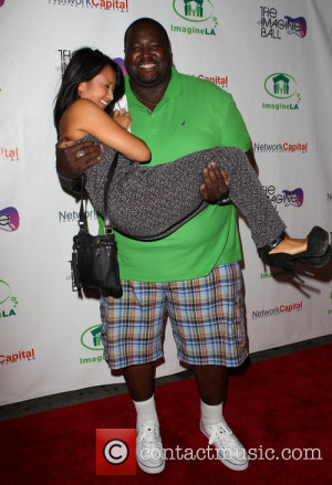 Quinton Aaron and Dianne Quirante - 'The Imagine Ball' benefiting ...