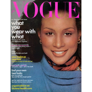 Beverly Johnson Vogue Cover Pic in First