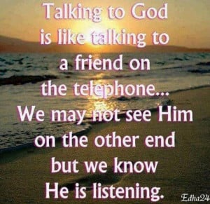 Talking to God