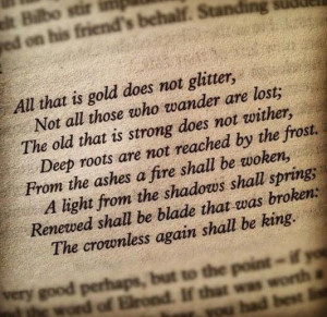 All that is gold does not glitter...