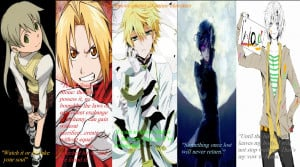 the famous quotes of anime characters by animexghost13 manga anime ...