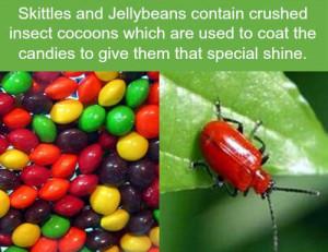 Never eating skittles again…