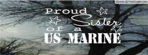 proud us marine sister cover