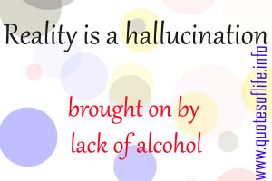 Reality-is-a-hallucination-brought-on-by-lack-of-alcohol-funny-and ...