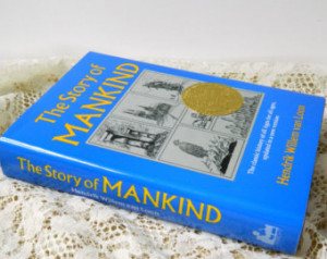Vintage The Story of Mankind by Hendrik Willem van Loon, World History ...