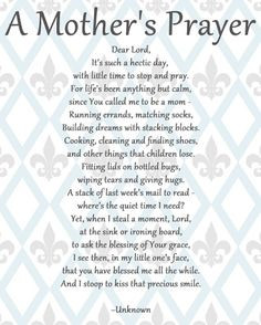 working mom prayer   The Corporate Housewife Mom: Manic Monday Quotes ...
