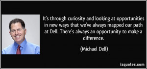 More Michael Dell Quotes