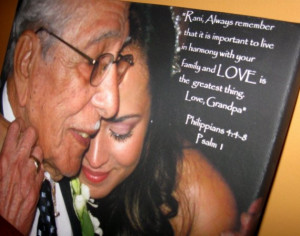Memorial Tribute Bereavement Art Canvas Photo and Words Lost Loved One ...