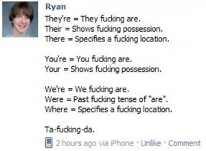 Funny Grammar Quotes Grammar lesson 101