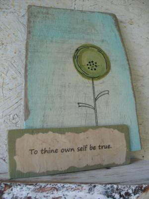 folk art primitive Rustic recycled wood sign quote by lazydazefarm, $ ...