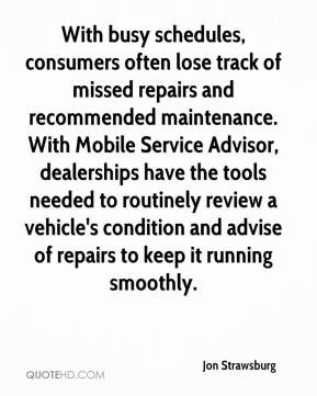 With busy schedules, consumers often lose track of missed repairs and ...