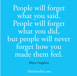 ... Quotes About Life Tagged With: Maya Angelou , National Nurses week