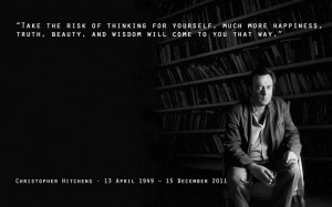 Christopher Hitchens quote