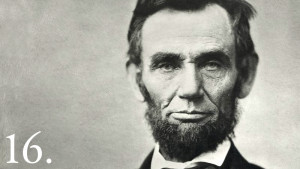 Abraham Lincoln became the United States' 16th President in 1861 ...