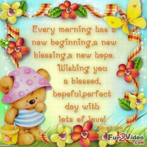 Good morning quotes for her to wish good morning greetings to your ...