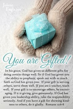 your spiritual gift.{click to read}. Exhortation is def. my main gift ...