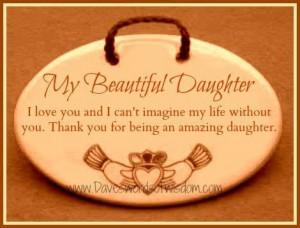 My beautiful daughter....