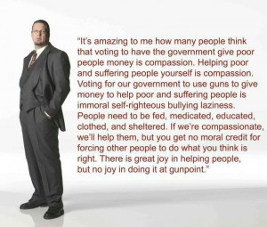 friend shared this quote by Penn Jillette on Facebook, so I stole it ...