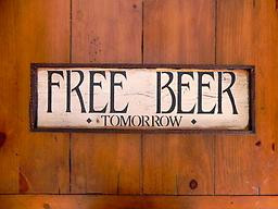 ... black font. Funny Wood Signs, Humorous Sayings, Bar Signs and Decor