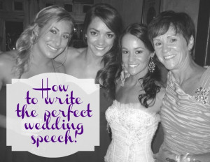 How to write the perfect wedding speech! (via @thecraftblog )