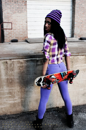 Skater Girl Tumblr Skater girl 1 by thetzstudio
