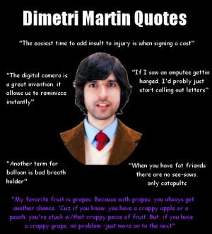Demetri Martin Quotes Imgur