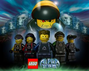 LEGO Alpha Team Game