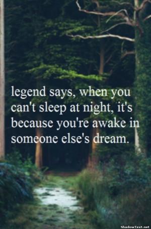 In Someone's Else's Dream