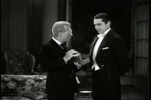 ... Van Sloan as Van Helsing and Bela Lugosi as Count Dracula (1931