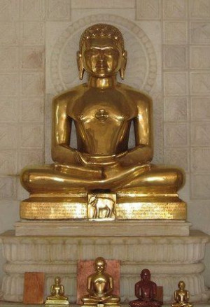 ... and Brahmacharia are the five principles propagated by Lord Mahavira