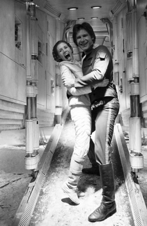 Leia and Han Solo Leia and Han Solo