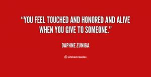 Quotes by Daphne Zuniga