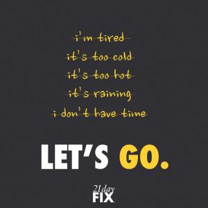 Workout motivation, no excuses workout, fitspo, fitness motivation ...